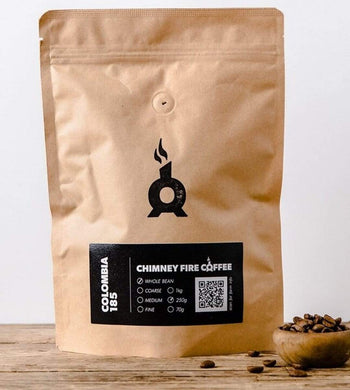 Chimney Fire Coffee GIFTING | CL Colombia Filter Roast Medium Grind Coffee