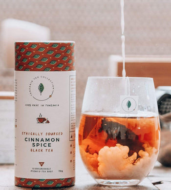 Tanzania Tea Collection GIFTING | CL Ethically Sourced Organic Cinnamon Spice Tea