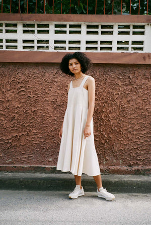 Float Handwoven Cotton Reversible Dress Natural DRESSES & JUMPSUITS | Womens Seeker X Retriever