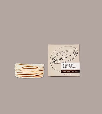 UpCircle BEAUTY | CL Hemp and Cotton Makeup Pads (Pack of 7)
