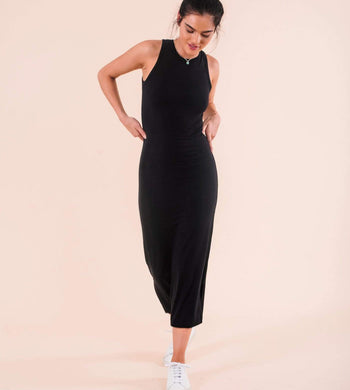 Know The Origin DRESSES & JUMPSUITS | Womens Lodi Modal Dress Black