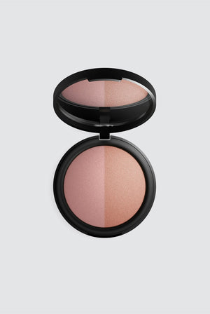 Mineral Baked Blush Duo BEAUTY | CL INIKA Burnt Peach