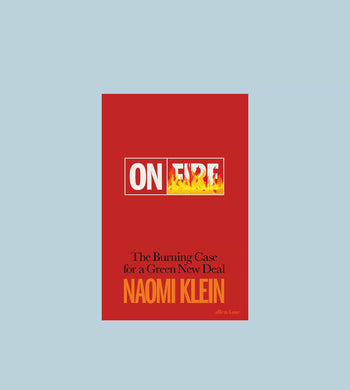Reading: Environment EDUCATION | CL On Fire by Naomi Klein Book