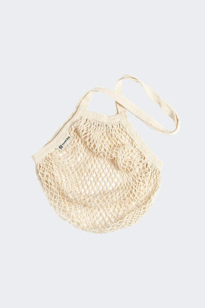 Turtle Bags HOME | CL Organic Cotton Braided Long Handle Shopper Natural