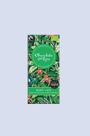Chocolate and Love GIFTING | CL Organic Dark Chocolate with Mint