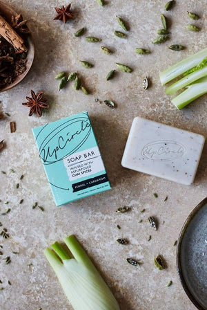 UpCircle BEAUTY | CL Organic Vegan Fennel & Cardamon Chai Soap Bar