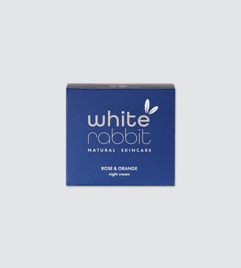 White Rabbit Skincare BEAUTY | CL Plastic-Free Natural Rose and Orange Night Cream