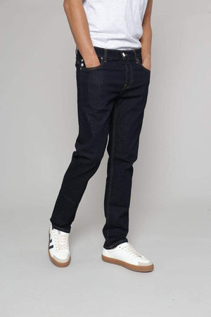 MUD Jeans TROUSERS & JEANS | Mens Regular Bryce Organic & Recycled Cotton Strong Blue Jeans