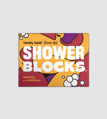 Shower Blocks Solid Shower Gel Coffee and Vanilla BATHROOM | CL Shower Blocks
