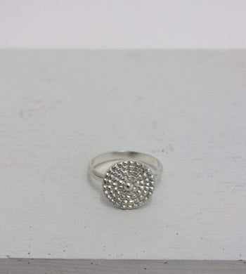 Kaligarh ACCESSORIES | Womens Silver Chakra Ring