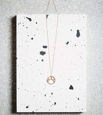 Kind ACCESSORIES | Womens Soleil Pendant Necklace 9ct Rose Gold