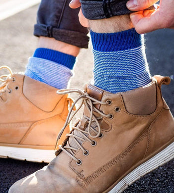 Socko ACCESSORIES | Unisex The Baker Blue Recycled Socks