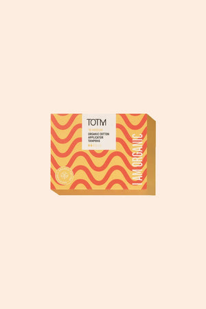 TOTM BATHROOM | CL TOTM Organic Applicator Tampons - Medium (16 Pack)