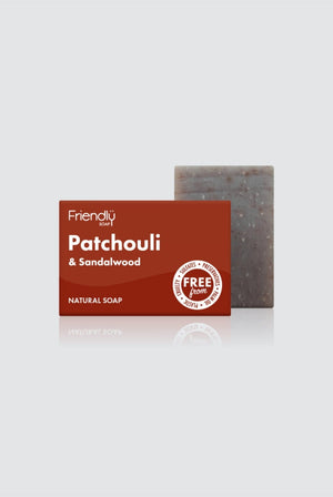 Friendly Soap BATHROOM | CL Vegan Patchouli & Sandalwood Soap