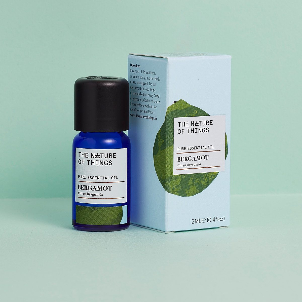 Don't Stress Gift Set - Patchouli, Bergamot & Petitgrain Oils GIFTING | CL The Nature of Things