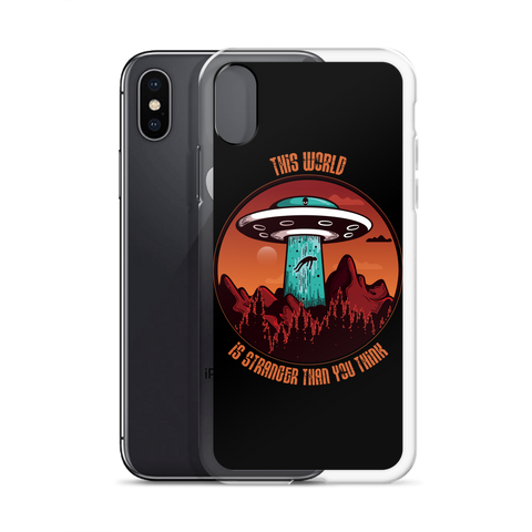 This World Is Stranger Than You Think - iPhone Cases