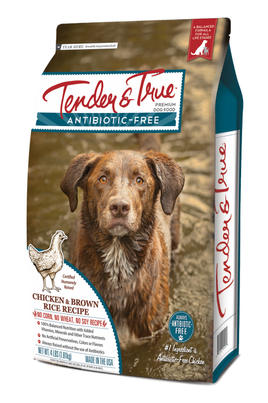 tender and true dog food reviews