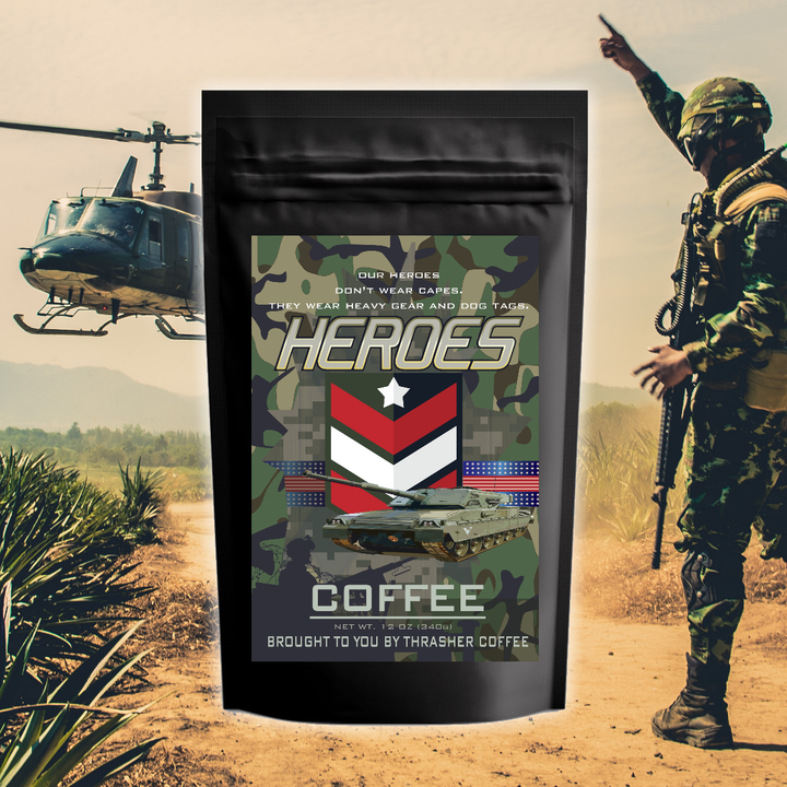 HEROES Coffee: Military or First Responders Options