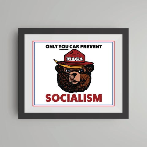 MAGA Bear (Parody) Digital Print (Downloadable)