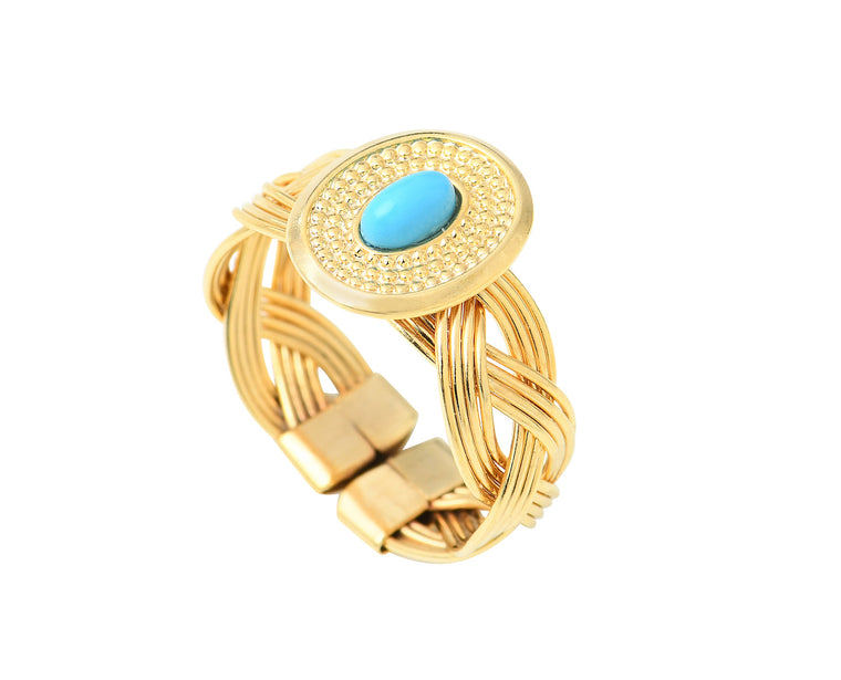 Bague OLYMPIA turquoise