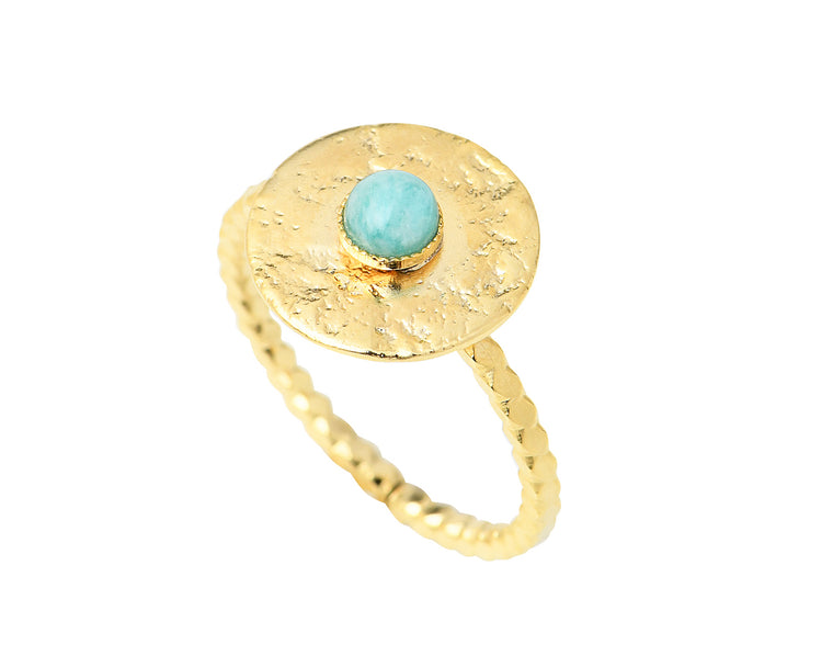 Bague VICTOIRE turquoise