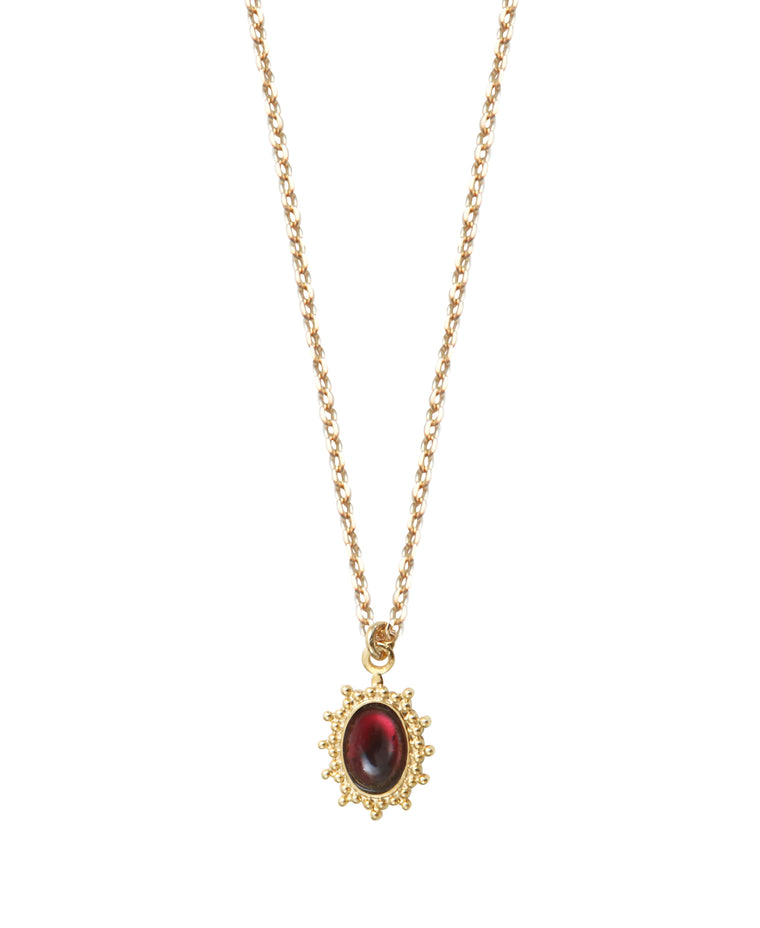 Collier FRAJA rouge