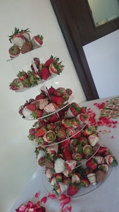 Chocolate Strawberry Tower – 5 Tier