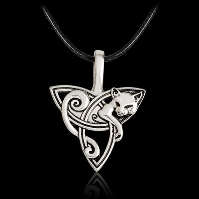 Wolf Fox Eagle Norse Viking Necklace For Men Norse Vikings Talisman Original Wild Men Jewelry Supernatural Amulet - Viking Jewelry Life