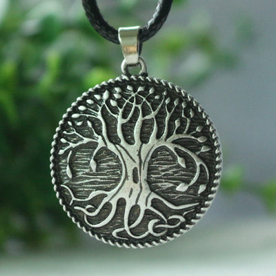 World tree necklace Viking Norse Tree Of Life Pendant - Viking Jewelry Life