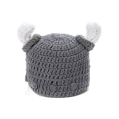 Baby Kids Viking Helmet Winter Hat Unisex Cotton Clothing/T-Shirts