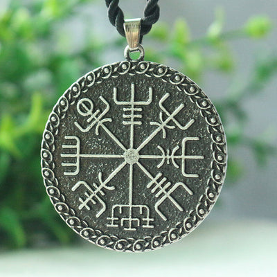 Viking Odin's Symbol Of Norse Runic Pendant Necklace - Viking Jewelry Life