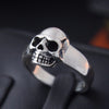 Viking/ Norse Skull 925 Sterling Silver Punk Vintage Quality Ring Sizes 7-13 Unisex