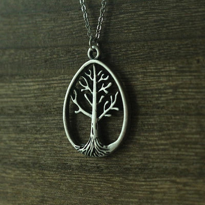 "Viking/ Norse World Tree Pendant Zinc Silver/ Bronze/ Or Gold-Tone 18"" Necklace  Unisex"
