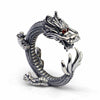 Viking/Norse Serpent Ragnarok 925 Sterling Silver Ring Sizes 7,8,9,10,11,11-1/2 Unisex