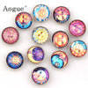 Sol Sun Leo 12 pcs Quality 18mm Mixed Snaps Buttons for Snap Button Jewelry