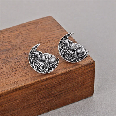Viking Vintage Silver Or Bronze Zinc Stud Earrings 26 Choices