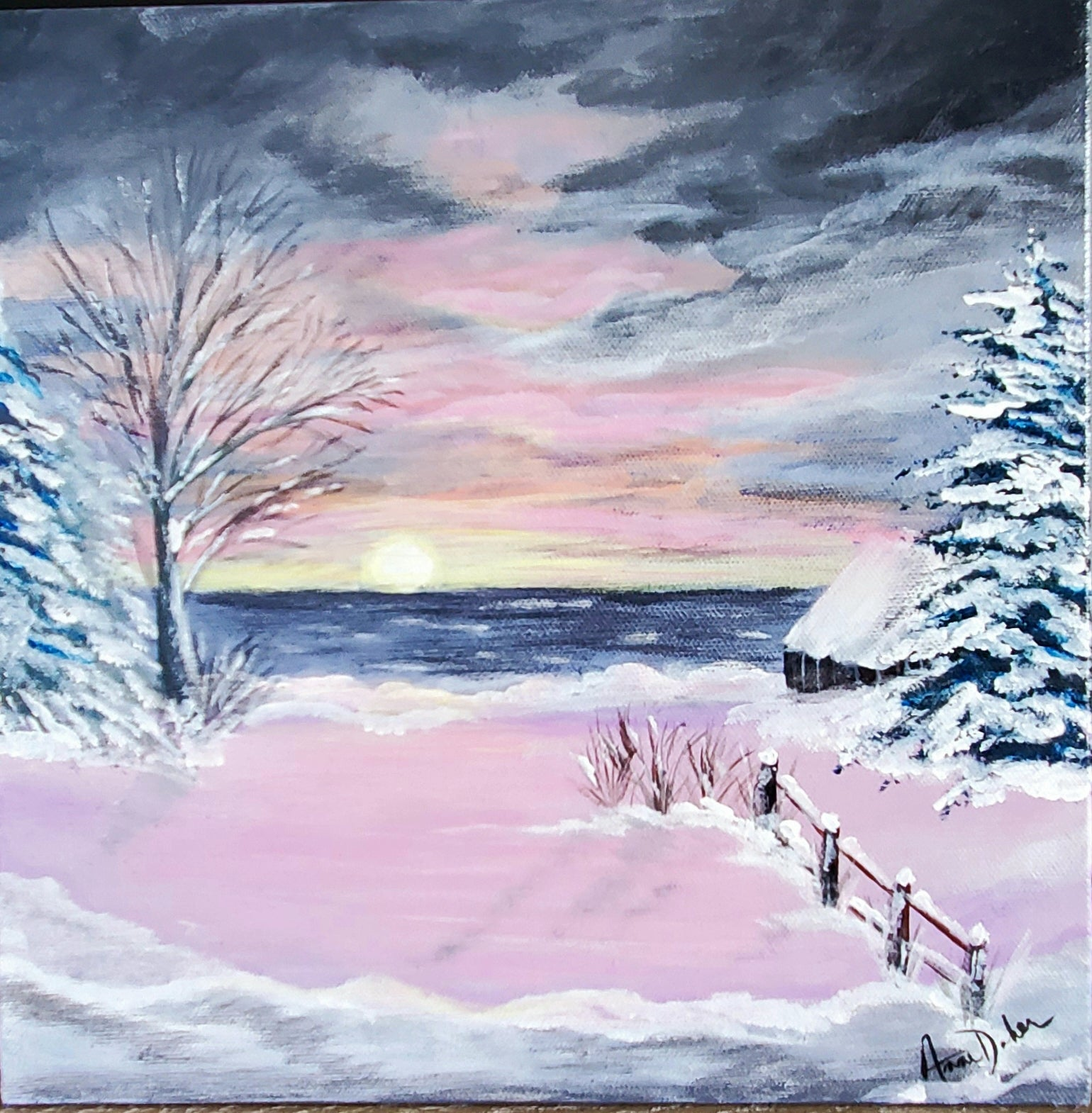 """Bright Kincardine Sunset"" Sold!"
