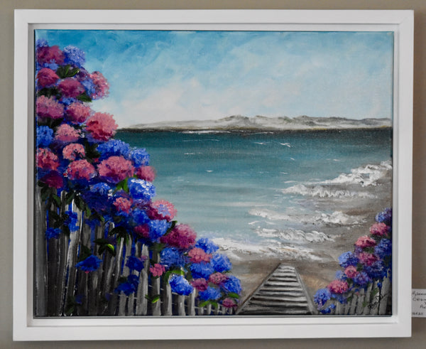 Hydrangea Walk to the Beach