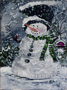Darling Little Snowman