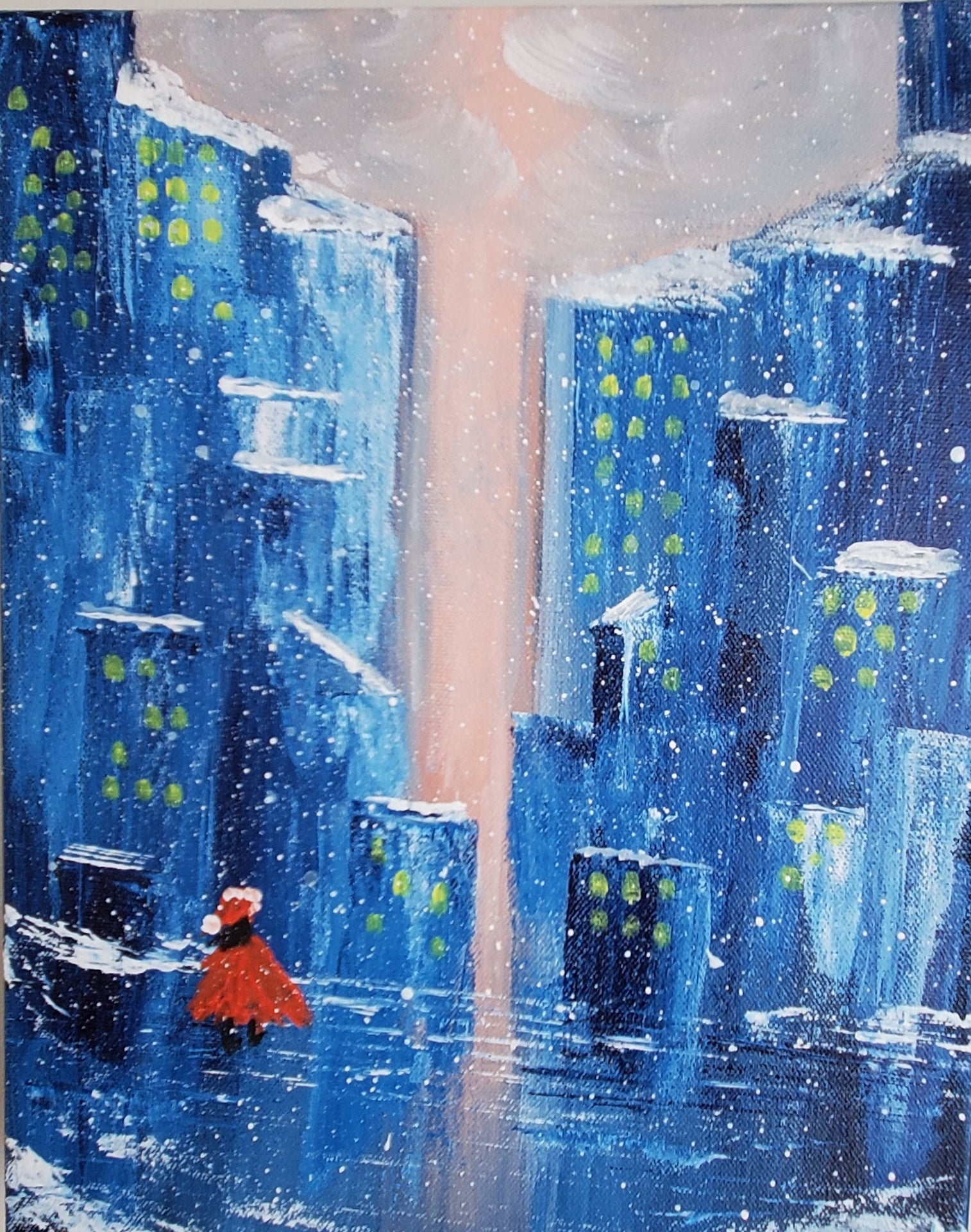 """Snowing in the City"""