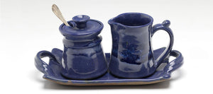 THE BITTY SET - HANDMADE POTTERY CREAM AND SUGAR SET
