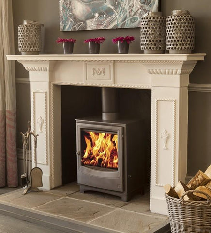 Arada Farringdon Medium 8kW Eco Design Ready Multifuel Stove - Stoves World Ltd
