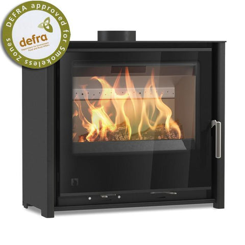 Arada i600 Slimline Freestanding Low Multi Fuel / Woodburning Stove - Stoves World Ltd