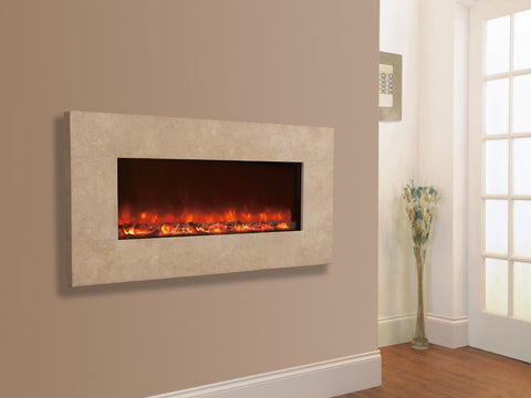 Celsi Electriflame XD Travertine 1300 Electric Fire - Stoves World Ltd