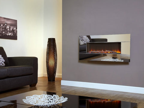 Celsi Flamonik Mirror Electric Fire - Stoves World Ltd