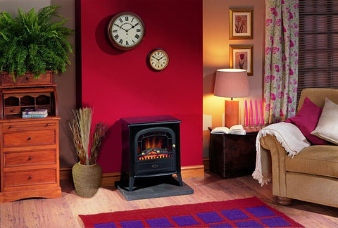 Club Optiflame Electric Stove - Stoves World Ltd