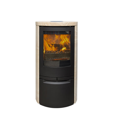 Jydepejsen Cosmo 1147 sandstone BLACK - Stoves World Ltd