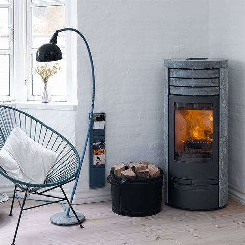 Jydepejsen Cosmo 1147 special soapstone BLACK - Stoves World Ltd