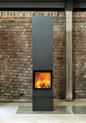 Jydepejsen Cubic 215 BLACK - Stoves World Ltd