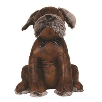 Leather Look Dog Doorstop - Stoves World Ltd